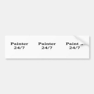 Painter 24/7 bumper sticker