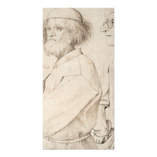 Painter and Connoisseur by Pieter Bruegel Photo Cards