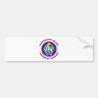 Painter by Trade Bumper Stickers