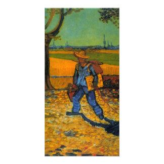 painter by Vincent van Gogh Picture Card