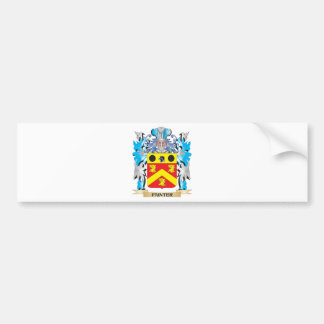 Painter Coat of Arms - Family Crest Bumper Sticker