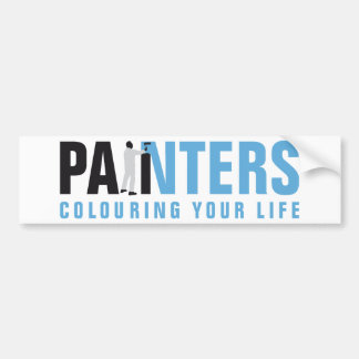 painter man auto aufkleber