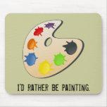 Painter Palette Mousepad