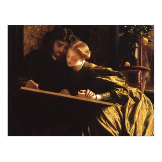 Painter s Honeymoon by Leighton Victorian Art Post Card