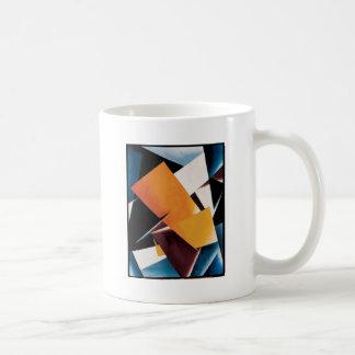 Painterly Architectonic by Lyubov Popova Basic White Mug