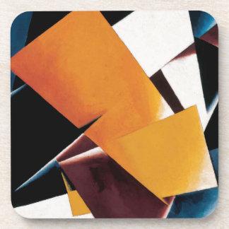 Painterly Architectonic by Lyubov Popova Coaster