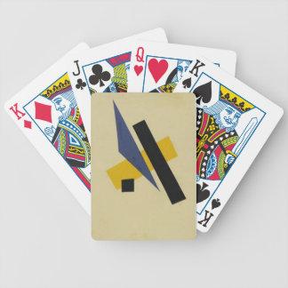 Painterly Architectonic by Lyubov Popova Poker Cards