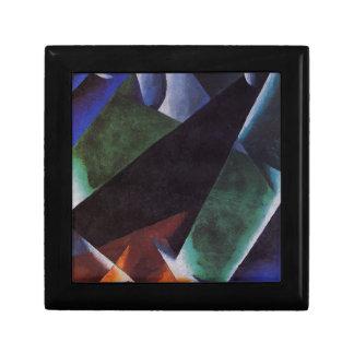 Painterly-Architectonic by Lyubov Popova Small Square Gift Box