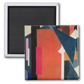 Painterly Architectonics, 1916-17 Square Magnet