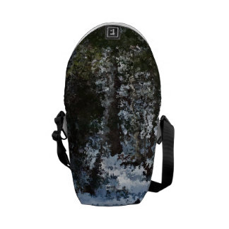 Painterly Forrest Courier Bag