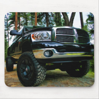 Painterly RAM Truck Mouse Mat