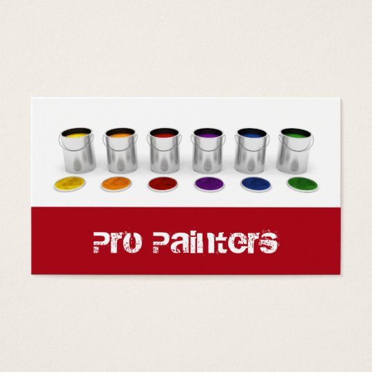 Painters and Decorators Business Card