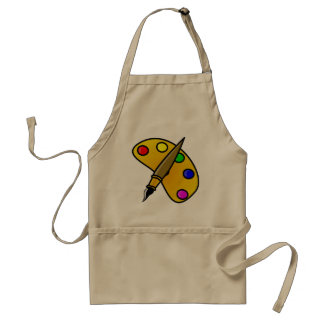 Painters Color Palette Apron