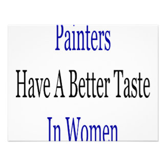 Painters Have A Better Taste In Women Announcement