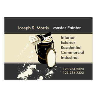 Painters  Painting Services Pack Of Chubby Business Cards