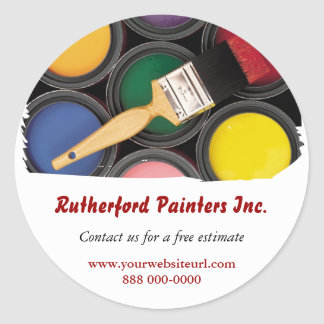 Painters Promotional Sticker