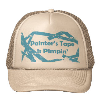 Painters Tape Hat