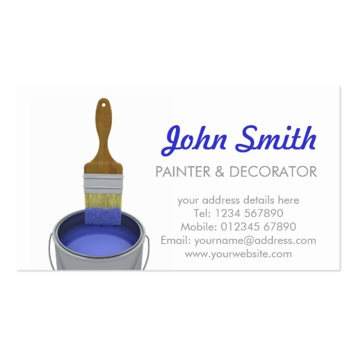 Create Your Own Contractor Business Cards