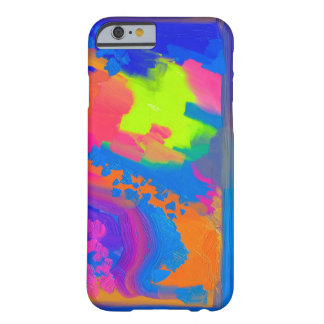 PAINTING | bright color abstract Barely There iPhone 6 Case