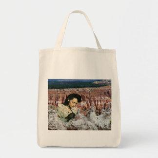 Painting Bryce Canyon Reusable Tote Bag