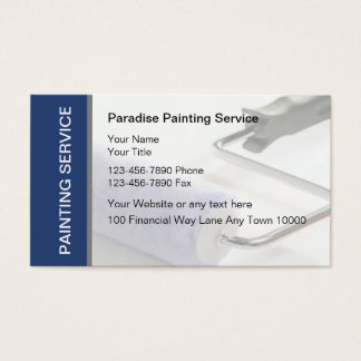 Painting Business Cards