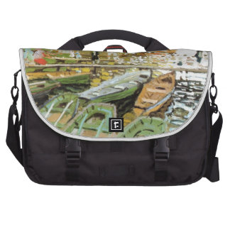Painting by Claude Monet Laptop Bag