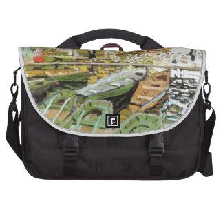 Painting by Claude Monet Laptop Bag