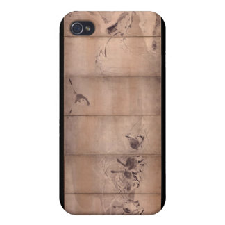 Painting by Miyamoto Musashi, c. 1600's Cases For iPhone 4