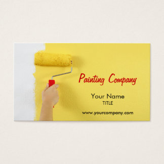 painting company / painter / interior designer business card
