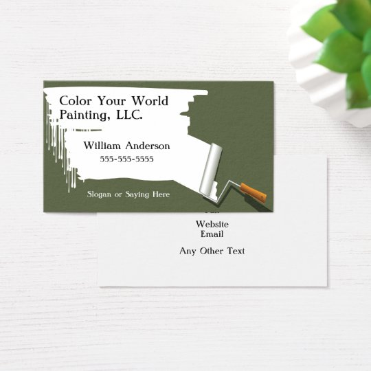 Painting Contractor Business Card