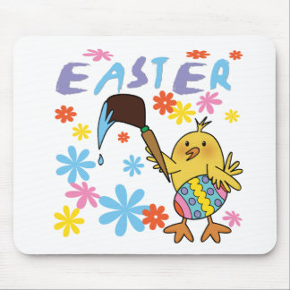 Painting Easter Eggs T-shirts and Gifts Mouse Pad