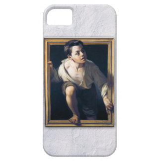 "Painting ""Escaping of critical"" the Art Trompe-l'? Barely There iPhone 5 Case"