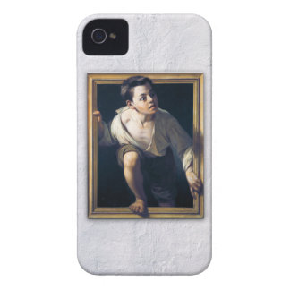 "Painting ""Escaping of critical"" the Art Trompe-l'? Case-Mate iPhone 4 Case"