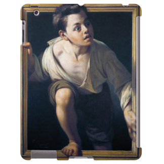 "Painting ""Escaping of critical"" the Art Trompe-l'? iPad Case"