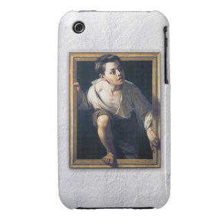 "Painting ""Escaping of critical"" the Art Trompe-l'? iPhone 3 Case"