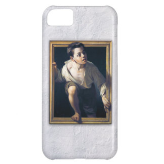 "Painting ""Escaping of critical"" the Art Trompe-l'? iPhone 5C Case"