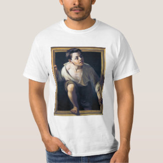 "Painting ""Escaping of critical"" the Art Trompe-l'? Shirts"