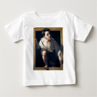 "Painting ""Escaping of critical"" the Art Trompe-l'? T-shirt"