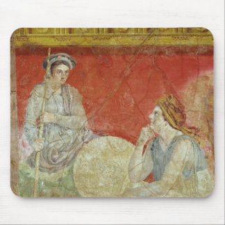 Painting from the Villa Boscoreale Mouse Pad