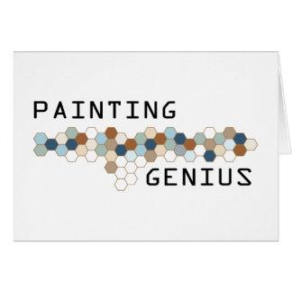 Painting Genius Greeting Cards