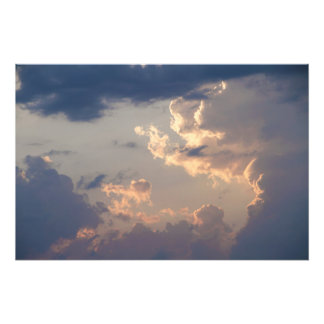 Painting in the Sky I (Size L) Photo Print