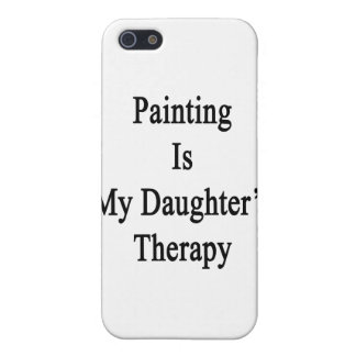Painting Is My Daughter's Therapy iPhone 5 Case