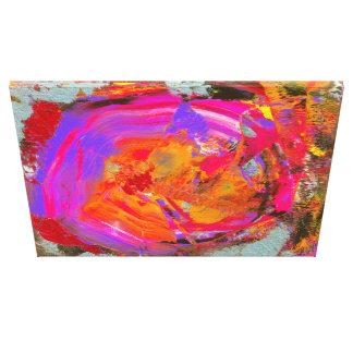 "Painting Laura ""Heat"" Canvas Print"