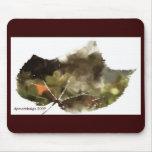 _Painting-leaf-dark, dpmartdesign 2009 Mouse Mats