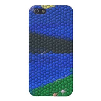 Painting mosaic tiles case for the iPhone 5