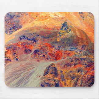 Painting: Mountains & Waterfall: Mouse Mat