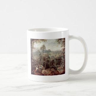 Painting Of A Gallow By Pieter Brueghel The Elder Coffee Mug