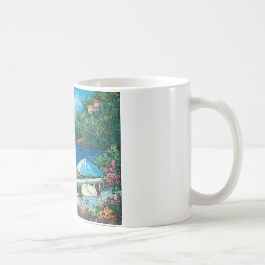 Painting Of A Sailboat Coffee Mug