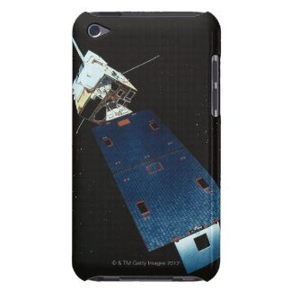 Painting of a Weather Satellite Barely There iPod Cover