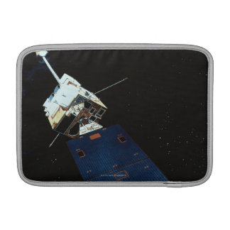 Painting of a Weather Satellite MacBook Sleeve